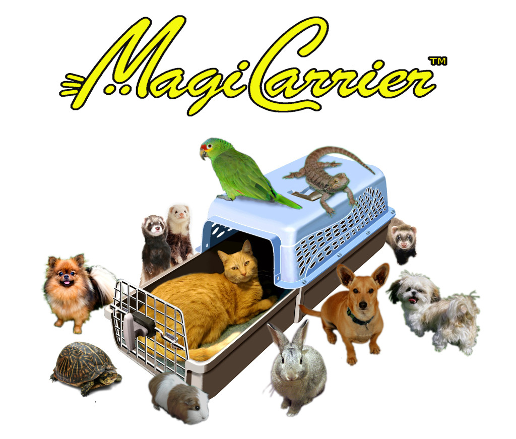 magicarrier with various animals